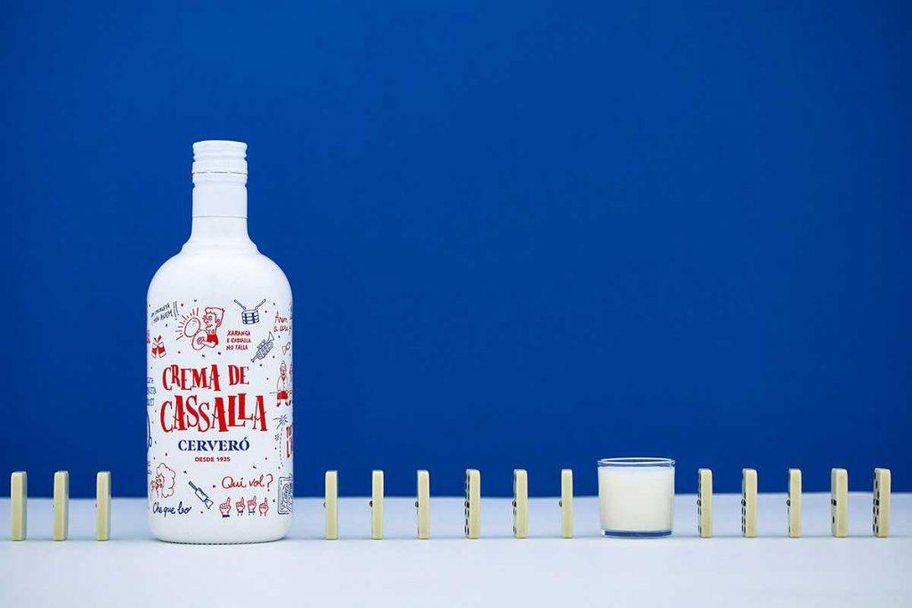Foto de alimentación para una marca de crema de cassalla: Cerveró.