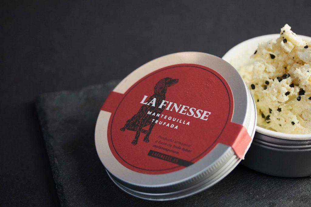 Fotografía de alimentación para una marca de trufa: La Finesse